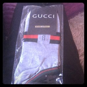Authentic Gucci ankle socks
